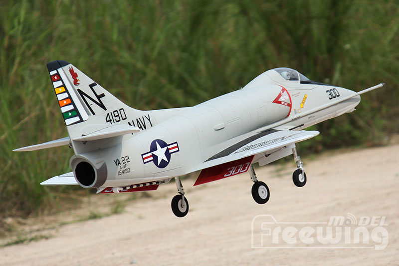 Freewing A-4E/F Skyhawk 80mm EDF Jet PNP RC airplane