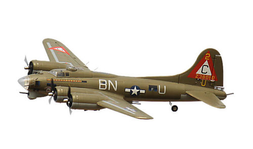 FreeWing B17 1600MM RC Flying Fortress EPO Foam PNP Green RC Airplane