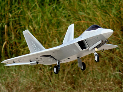 Freewing F-22 Raptor Ultra Performance 8S 90mm EDF Jet PNP RC Airplane