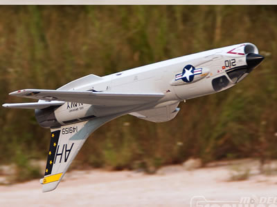 Freewing F-8 Crusader 64mm Jet PNP 3S RC Airplane