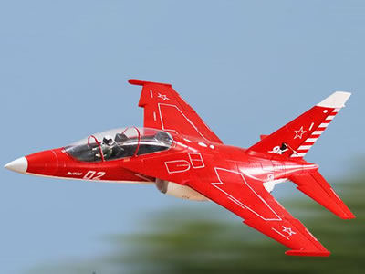 Freewing Yak-130 Red 70mm EDF Jet PNP RC Airplane